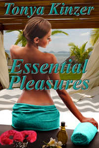 cover design for the book entitled Essential Pleasures