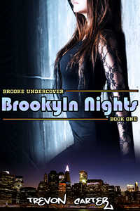 cover design for the book entitled Brooklyn Nights