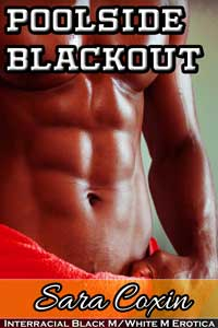cover design for the book entitled Poolside Blackout