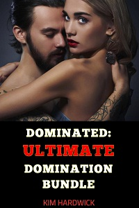 cover design for the book entitled DOMINATED: ULTIMATE DOMINATION BUNDLE