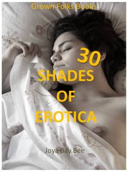 cover design for the book entitled 30 Shades of Erotica