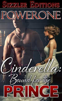 cover design for the book entitled Cinderella: Bound for the Prince