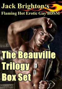cover design for the book entitled The Beauville Trilogy Box Set