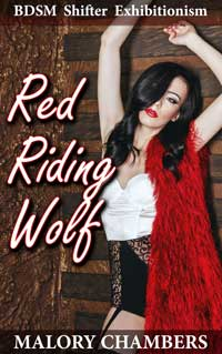 cover design for the book entitled Red Riding Wolf