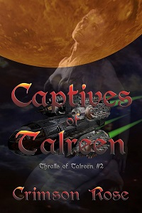 cover design for the book entitled Captives of Talreen