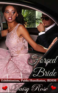 cover design for the book entitled Forced Bride