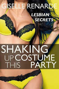 cover design for the book entitled Shaking Up This Costume Party