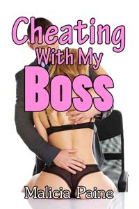 cover design for the book entitled Cheating With My Boss