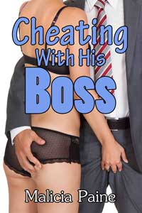 cover design for the book entitled Cheating With His Boss
