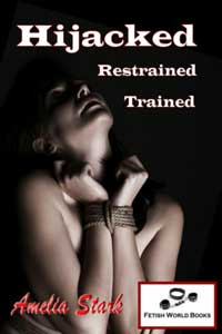 cover design for the book entitled Hijacked, Restrained, Trained