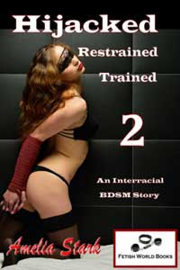 cover design for the book entitled Hijacked, Restrained, Trained 2