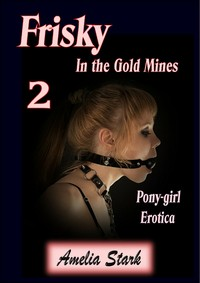 cover design for the book entitled Frisky in the Gold Mines